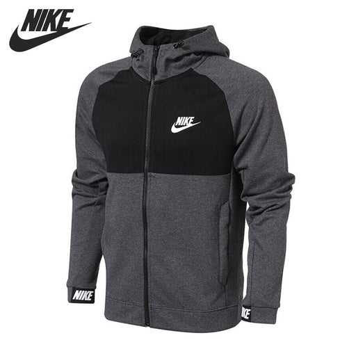 Original New Arrival  NIKE NSW AV15 HOODIE FZ FLC Men's Jacket Hooded  Sportswear