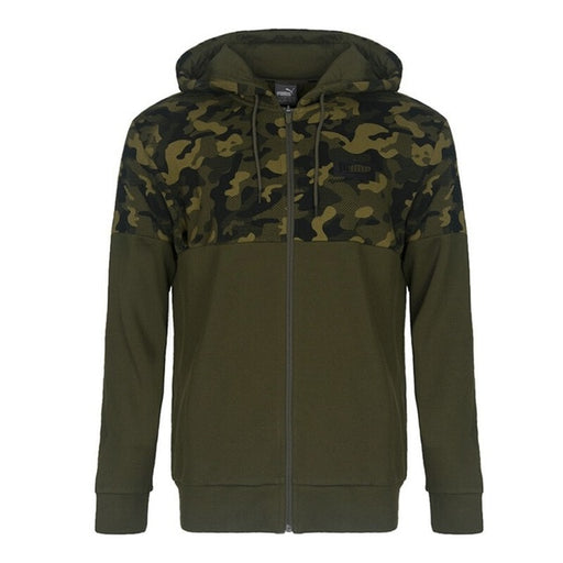 Original New Arrival  PUMA AOP PUMA Rebel FZ Hoody  Men's jacket Hooded Sportswear