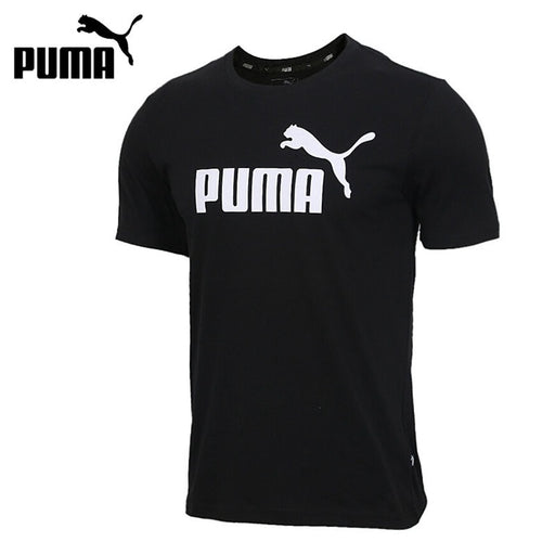 Original New Arrival PUMA ESS Logo Tee Men's T-shirts short sleeve Sportswear