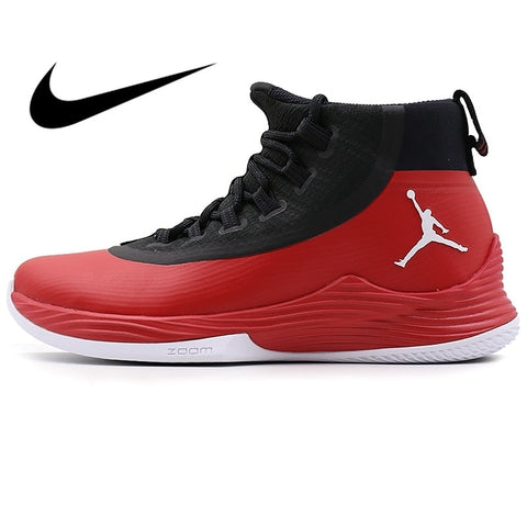 Original New NIKE Men's Basketball Shoes Jordan High-cut Breathable Wear-resistant Athletics Outdoor Sports Sneakers 914479