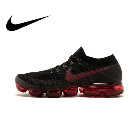 4ca65fb855 Original Official Nike Air VaporMax Be True Flyknit Breathable Men s  Running Shoes Outdoor Sports Sneakers Low