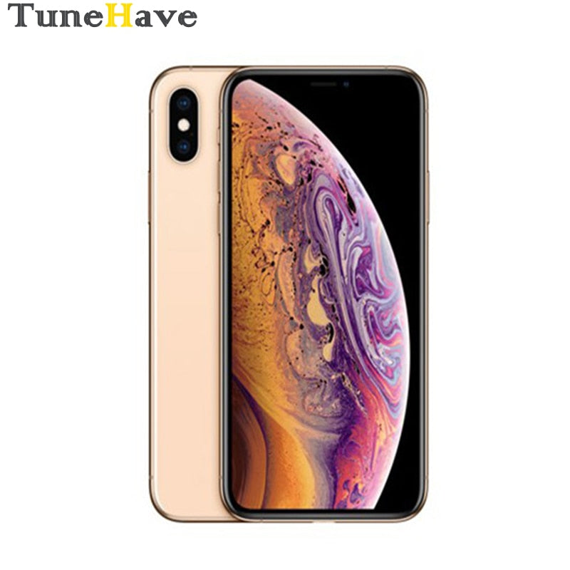 "Original Unlocked Apple iPhone XS 5.8"" Retina OLED Display 4G LTE 4G RAM 64gb/256gb/512gb ROM A12 Bionic Chip IOS12"