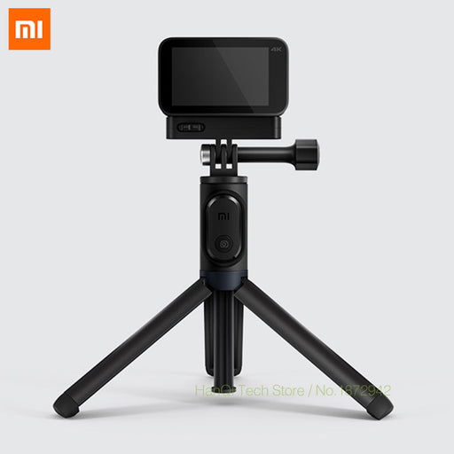 Original Xiaomi Mijia Small Camera Selfie Stick Tripod Bluetooth 3.0 Remote Control 360 Rotation Lightweight Foldable Compact