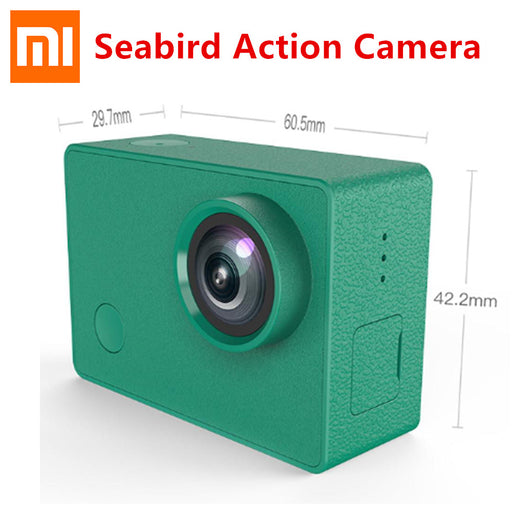 "Original Xiaomi Seabird 4K Sports Camera 12MP 4k/30FPS 2.0"" IPS HD Touch Screen 145 Degree Wide Angle Wifi Xiaomi Action Camera"