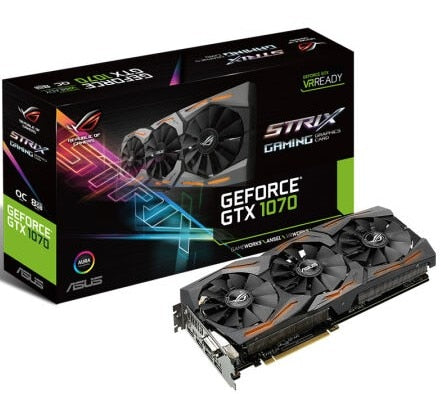 ROG-STRIX-GTX1070-O8G-GAMING Raptor VR Game Graphics OC