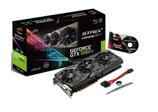 ROG STRIX-GTX1080TI-O11G-GAMING Raptor Overclocked version GTX1080TI