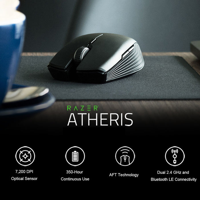 8e6380f9e08 Razer Atheris Bt Wireless Mouse Ambidextrous Mini Portable Gaming Mouse  7200 DPI Optical Sensor 2.4 GHz