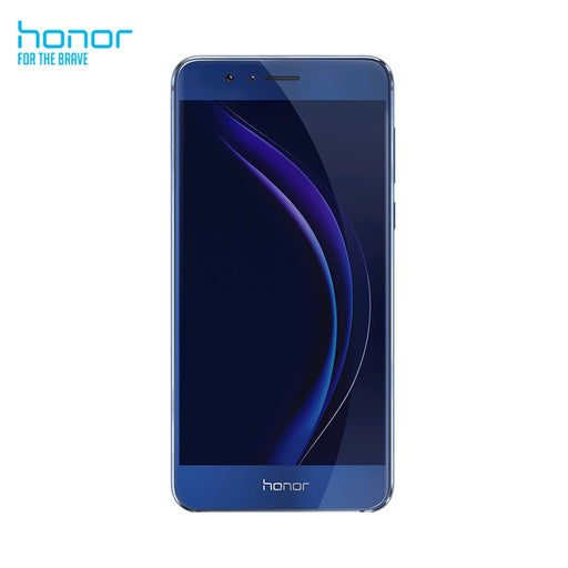 Smartphone Honor 8 (RAM 4GB, ROM 32 GB, 5.2 Inch, Rear Camera 12 MP, Front Camera 8 MP, Android 6.0) Blue Mobile Phone