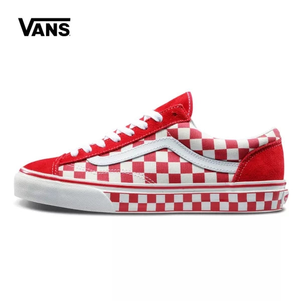 VANS autumn campus Lattice series Classic Men and Womens Sneakers canvas shoes, Sports shoes Weight lifting shoes HipHo Eur 36-4