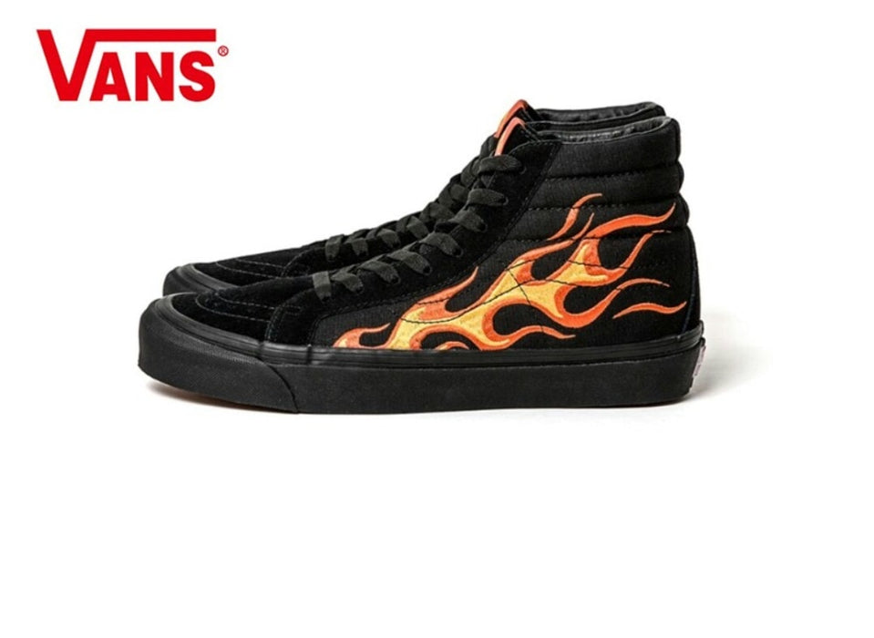 Vans Skateboarding Shoes High-top Sneakers  VANS X Wtaps Sk8-Hi era old schoo Athletic Shoes Mens Womens Weight lifting shoes