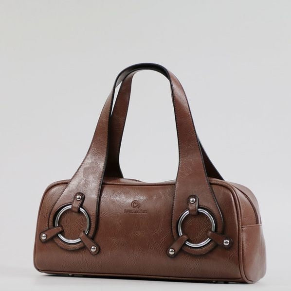 Women leather Handbag Bag Fashion Retro Pillow Bag Designer Boston Tote Bag ladies' shoulder bag Quality Guaranteed~17B9