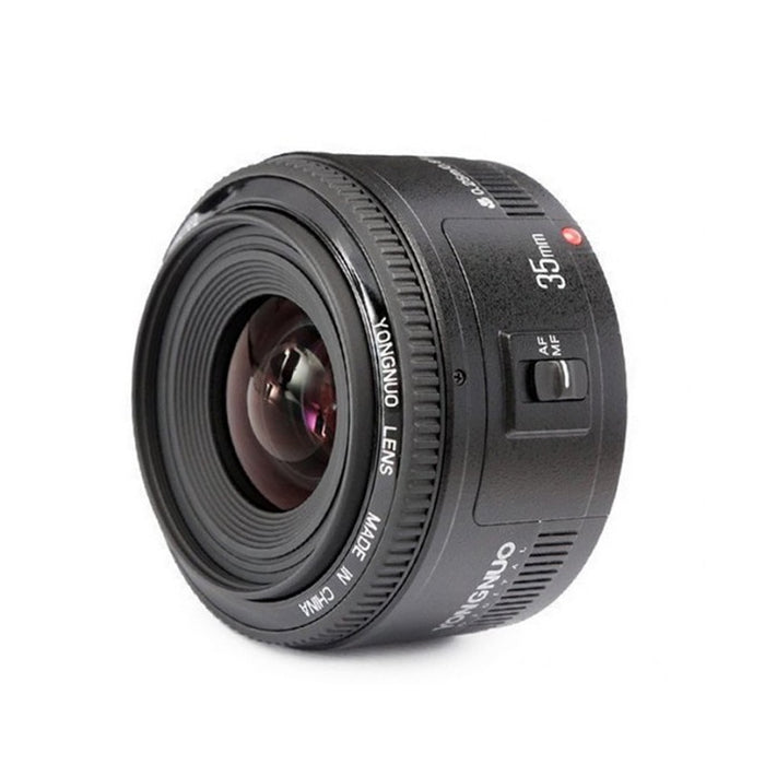 YONGNUO YN 35mm F2 Camera Lens Lens 1:2 AF / MF Wide-Angle Fixed / Prime Auto Focus Lens for Nikon for Canon