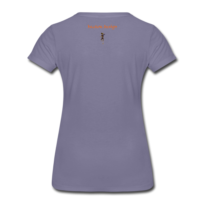 Women's Premium T-Shirt - Butterfly - washed violet