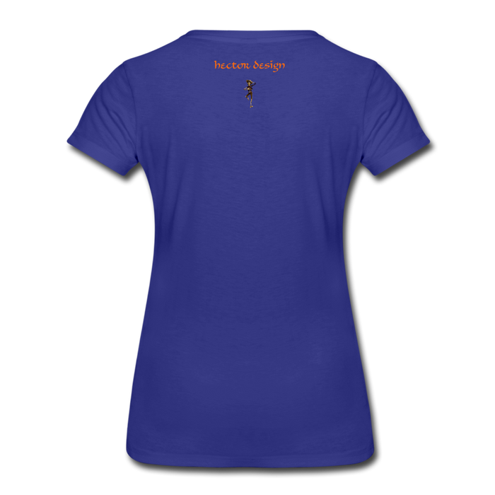 Women's Premium T-Shirt - Butterfly - royal blue