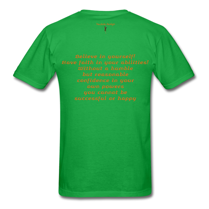 Men's T-Shirt - Rooster - bright green
