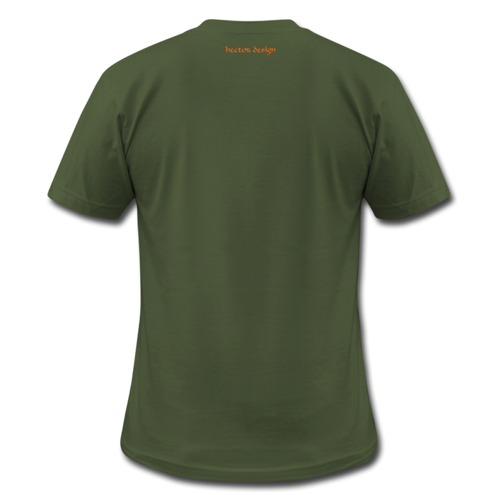 Men's  Jersey T-Shirt - Done - olive
