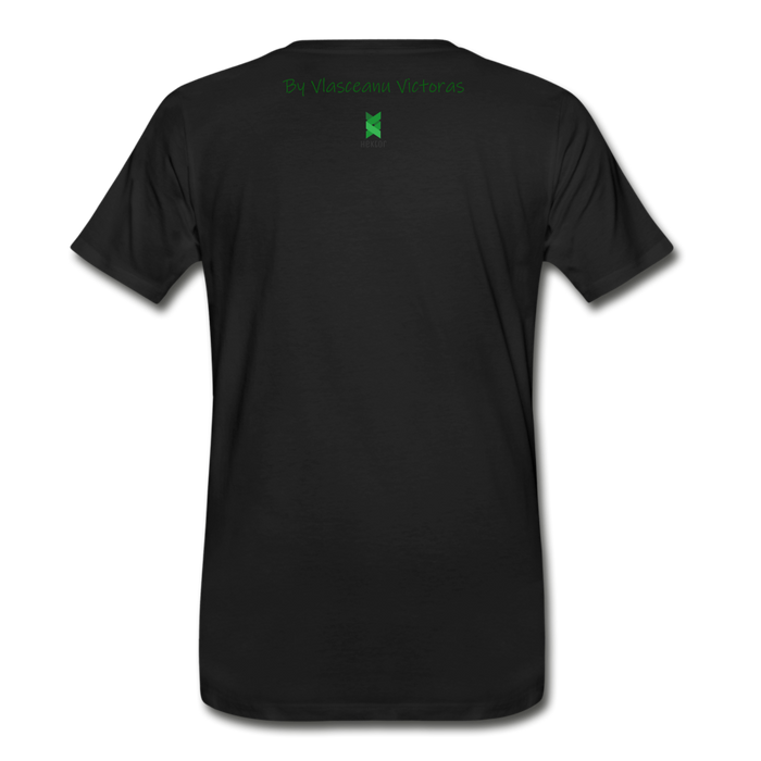 Men's Premium T-Shirt Hector - black
