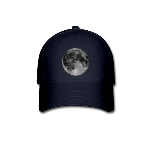 Baseball Cap - Moon - navy