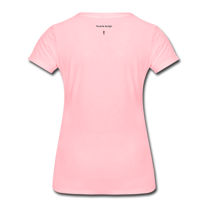 Women's Premium T-Shirt - Never Give Up - pink