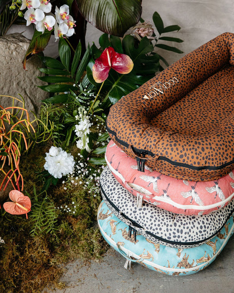 DockATot wild at heart collection for jungle nursery