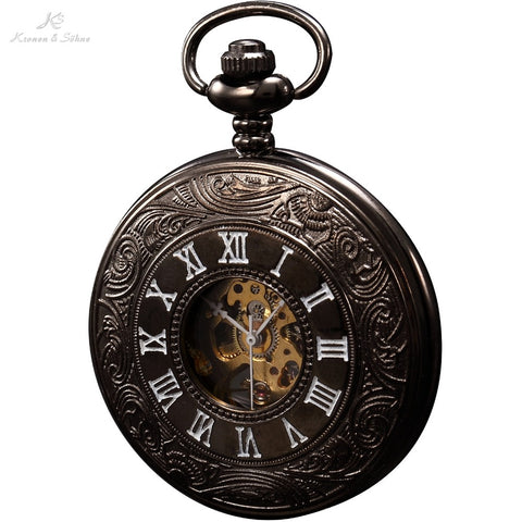 Men's Luxury Steel Pocket Watch