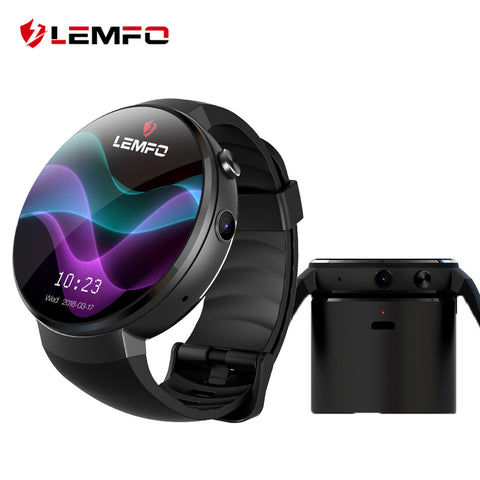 LEM7 4G Smart Watch Android 7.0 With Sim