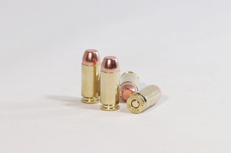 40 S&W 165 GR Flat Nose Ammunition