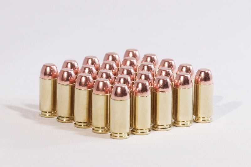 Multiple 40 S&W 165 GR Flat Nose Ammunition