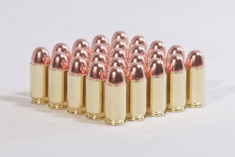 Multiple 45 ACP 230 grain round nose ammunition