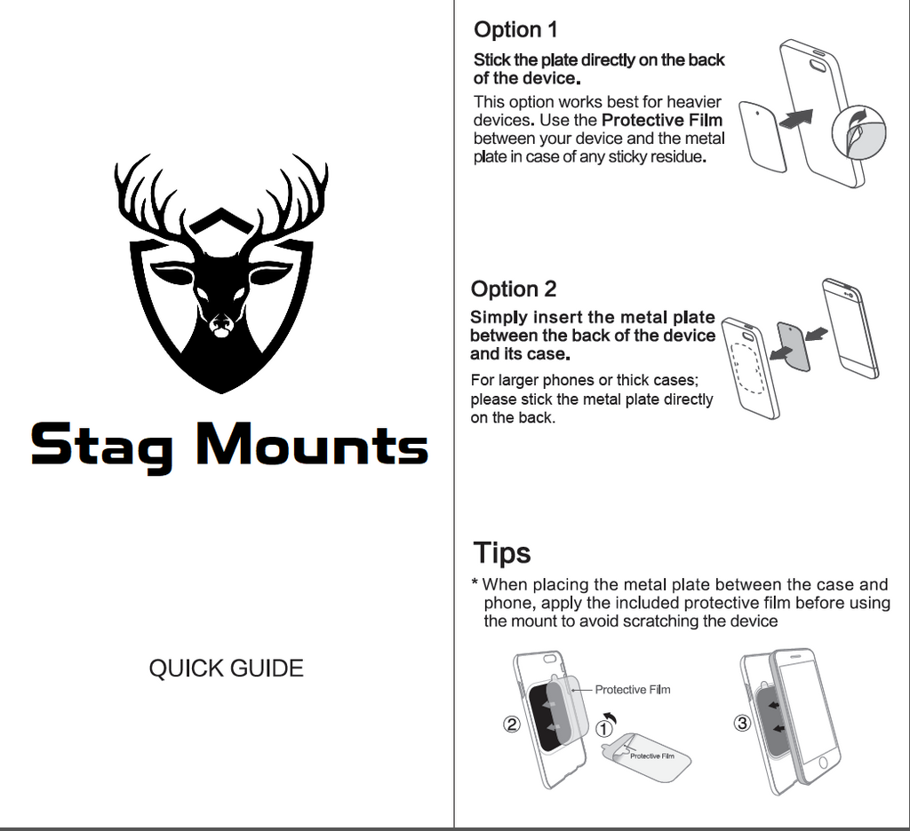 Stag Mounts User Guide