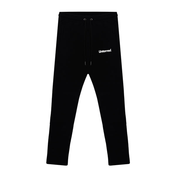 Untamed Black Track Pants