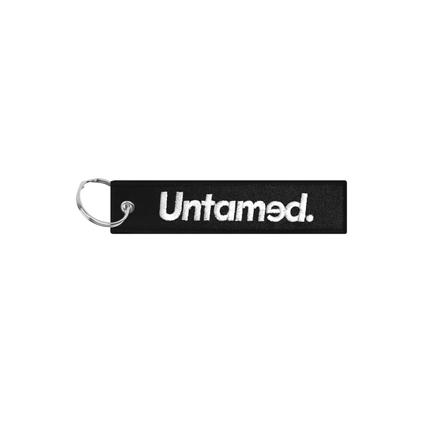 Untamed Black Jet Tag