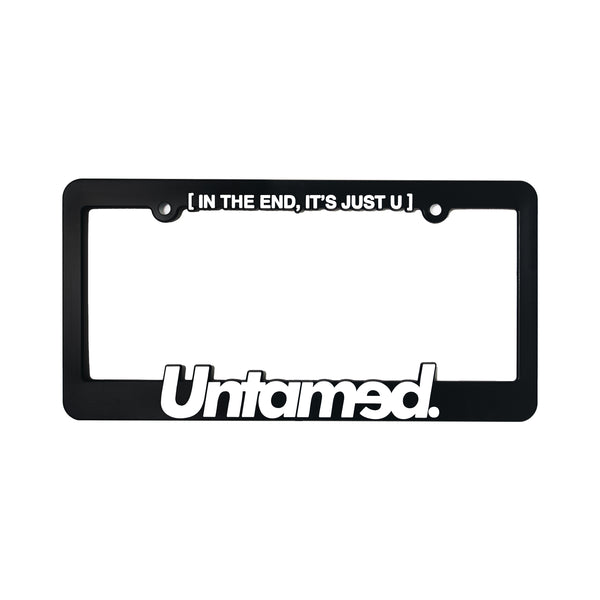 Untamed - License Plate Frame