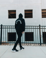 Untamed Black World Champ Zip Hoodie