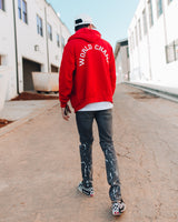 Untamed Red World Champ Zip Hoodie