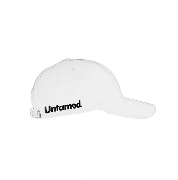 Untamed White Racing Hat