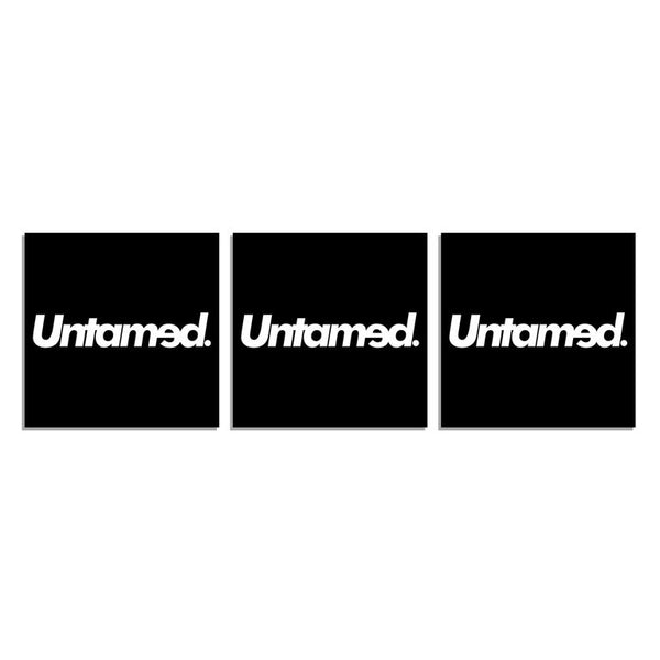 Untamed Square Sticker