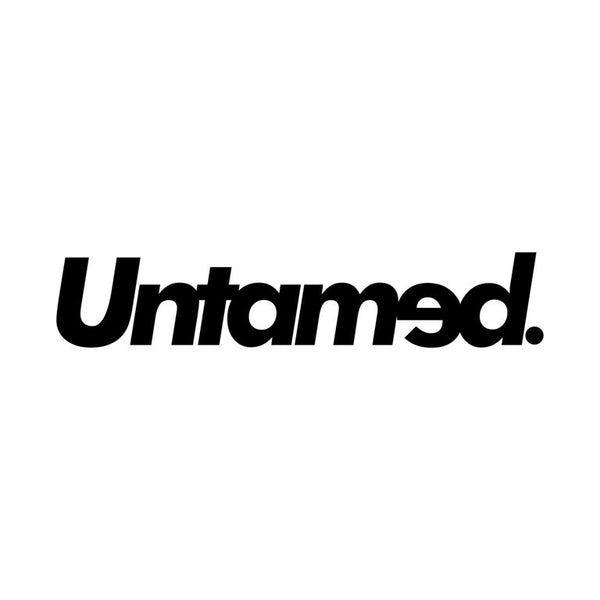 Untamed White Die-cut Sticker