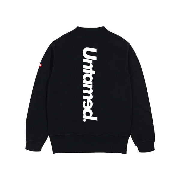 Untamed - Black Soul CrewNeck