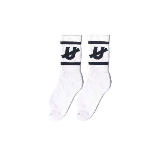 Untamed - White U Socks