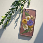 Pink Pressed Flower iPhone 7 Case, Spocket App