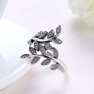 "VIVA Lux ""Flora Wrap"" Ring (Solid 925 Sterling Silver)"