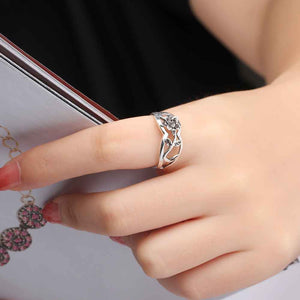"VIVA ""Seedling"" Ring  (925 Sterling Silver)"