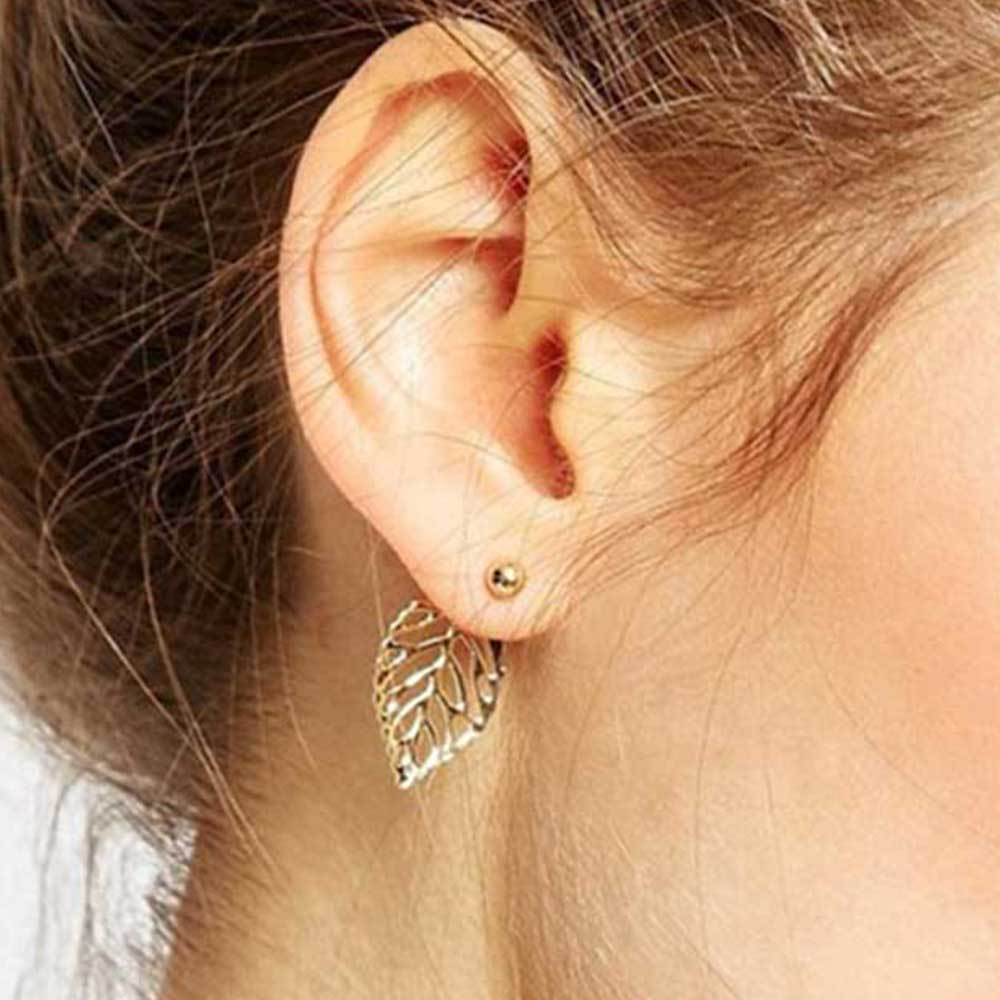 The Leafy Stud Earrings