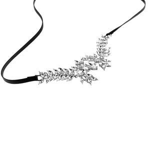 "VIVA Lux ""Leaf Queen Choker"" Necklace"