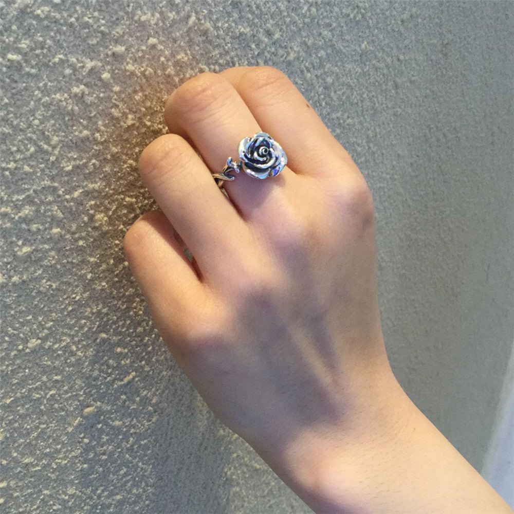 The Rosey Ring (Sterling Silver)