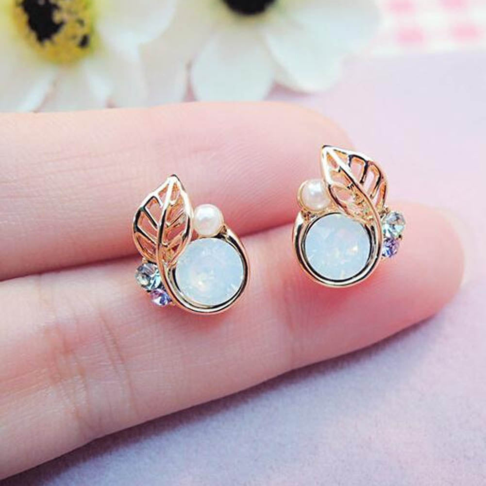 "VIVA Lux ""Little Leaf"" Earrings"