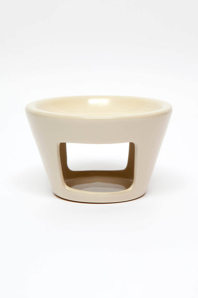 Ivory Ceramic Oil Burner