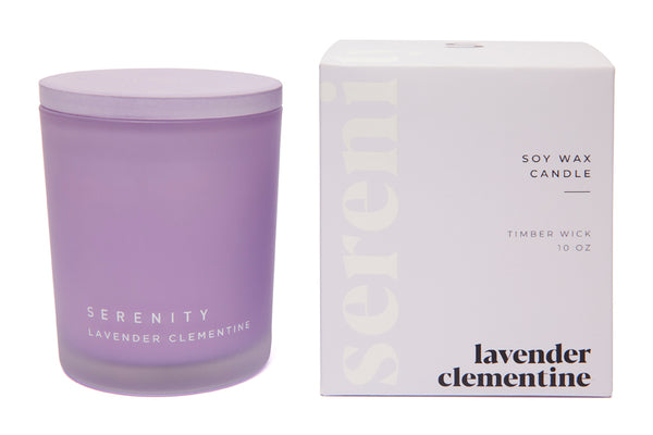 Coloured Frost - Lavender Clementine