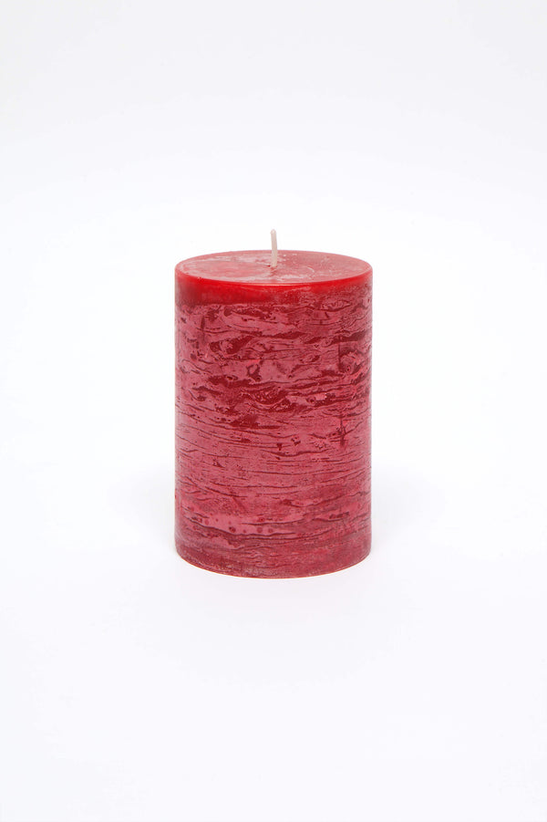 Pillar Candle - Ripe Raspberry
